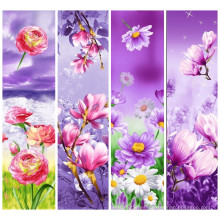 Estampado de flores de moda 100% poliéster tejido impreso