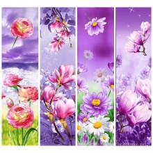 Модный цветочный узор 100% полиэфирная ткань