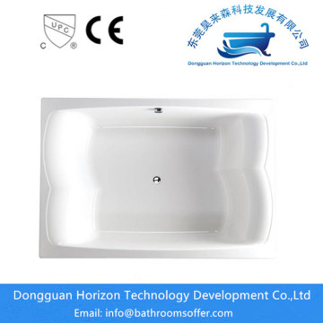 Acrylic large bathroom tubs for couple