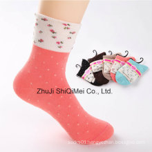Manufacturers Custom Wholesale Casual Ladies Girls Tube Socks