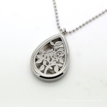 Custom Perfume Locket Stainless Steel Diffuser Necklace