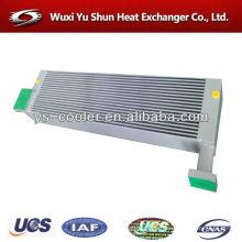 high performance aluminum air compressor oil cooler / air compressor part