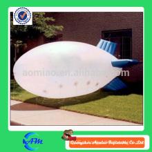 Balão inflável inflável do hélio do dirigível do míssil inflável personalizado à venda