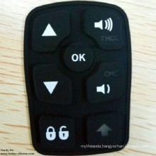 Customize Elastomer Rubber Translucent Silicone Laser Etching Keypad