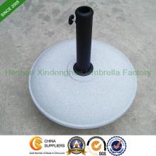 26kg ronde Base béton parapluie pour parasols de jardin (BASE-R026C)