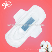 Super absorbent and day time used best ladies negative ion sanitary pads