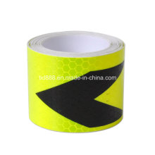 "Fashion 2""X10′ 3m Arrow Reflective Safety Warning Conspicuity Tape"