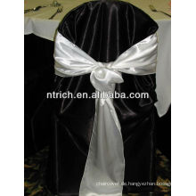 Dekorative satin Stuhl-Schärpe für Bankette und Hochzeit