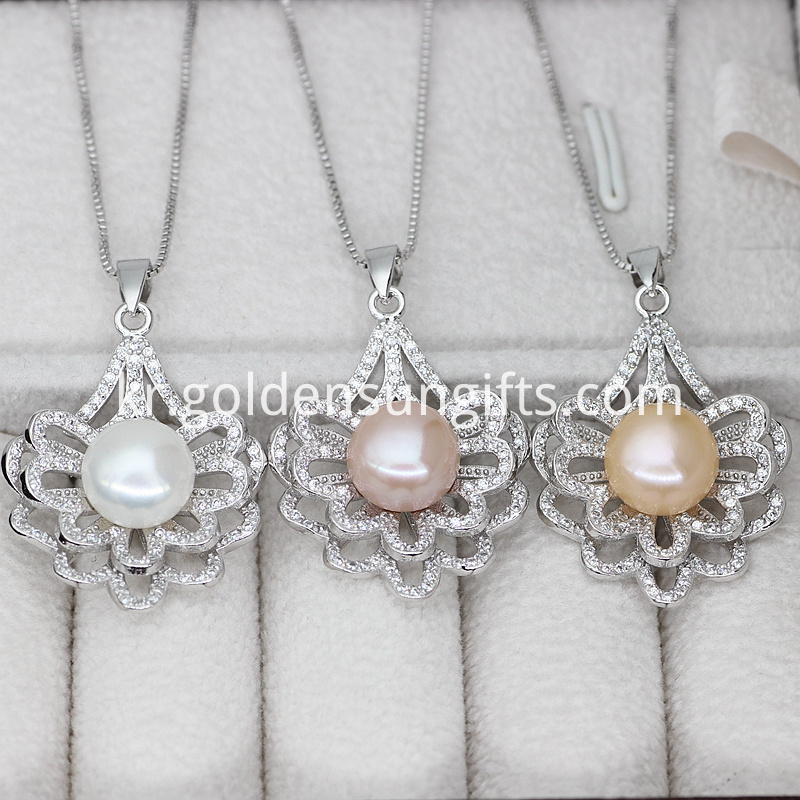 Three Colors Freshwater Pearl Jewelry