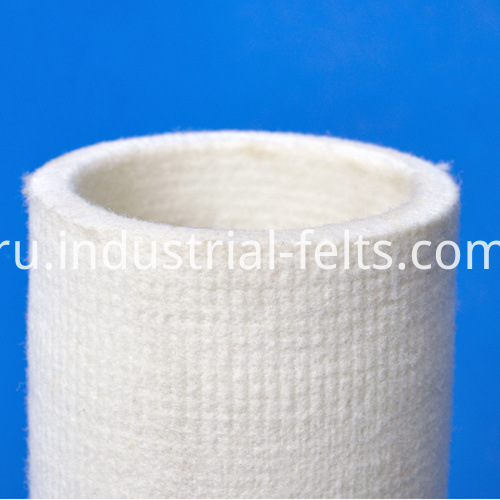 Polyester Felt Roller Sleeves For Cooling Table