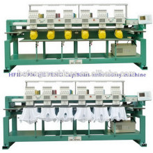 6 heads cap shirt embroidery machine