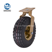 8 Inch Swivel Rubber Pneumatic Caster Wheel