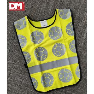 Child Safety Vest Waistcoat with Reflective Strips