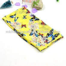 Summer Wholesale Cheap Butterfly Printing Chiffon Georgette Scarf