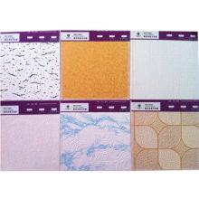 Magnesium Fiber Board Ceiling, Decorative Material PVC,fireproof, No sag, Restaurant and Hotel