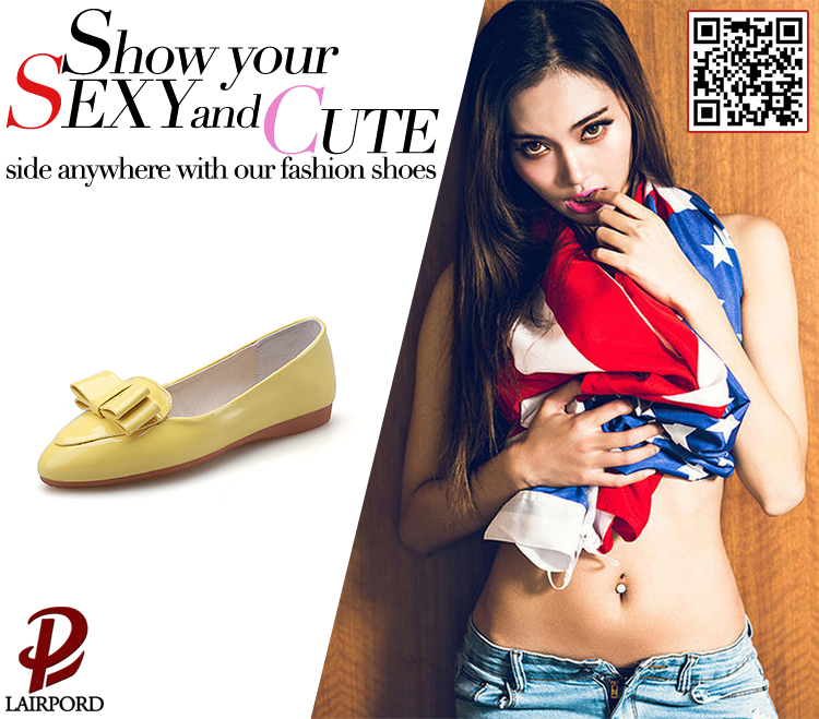 flat PU shoes wholesale