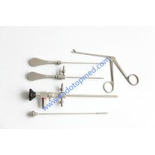 30 °, 2,7 × 175 mm Arthroskop mit Arthroskopie-Scheide und Obturatoren, Blakesley Forcep