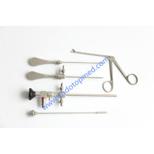 30deg, 2.7X175mm Arthroscope with Arthroscopy Sheath and Obturators, Blakesley Forcep