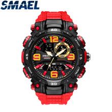 Reloj deportivo SMAEL Relojes electrónicos de cuarzo para hombre