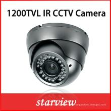 1200tvl IR cámara de seguridad CCTV de metal