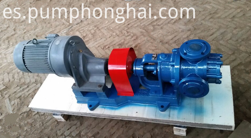 high viscosity oil pump