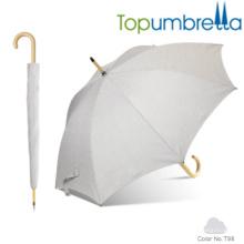 Nueva llegada cambio de color melange yam textura paraguas de madera Nueva llegada cambio de color melange yam textura paraguas de madera