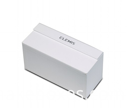 white eyelash paper box with magnet