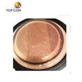cosmetic sponge latex wedges diimond brown cosmetic puff silicone makeup sponge