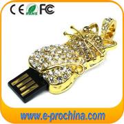 Full Grade Cacacity Diamond Jewelry USB Flash Drive