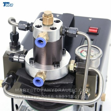 Compressor de ar do inflador 300bar 30mpa 4500psi 110v 220v da pistola pneumática do PCC