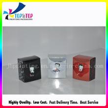 Cuadro de embalaje de papel pequeño cuadrado de alta calidad