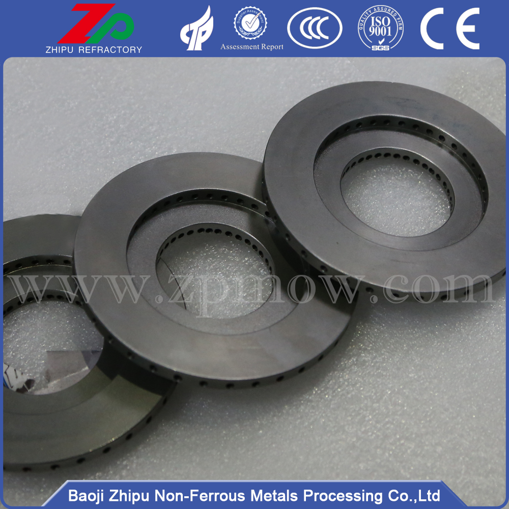99.95% purity molybdenum flange