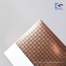 Sencai складной высокий конец сусальное золото штемпелюя коробка подарка косметическая упаковывая