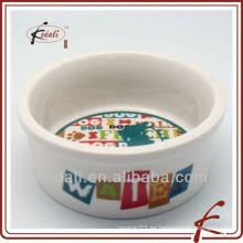 Porcelana pet bowl