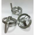 Stainless Steel Revolving Handle Hand Wheel