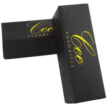 Black Matte Paper Custom Lip Box