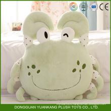Custom Plush Animal Crab Shaped Decorative Sofa Pillow