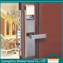 Serrure intelligente électronique sûre pour la porte d'entrée pour les maisons