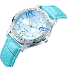 skone 9243 color crystal stylish lady watches