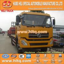 Chine fournisseur DONGFENG DFL 6X4 22tons charge 260hp camion plat avec haute qualité et prix compétitif pour l'exportation en Afrique.