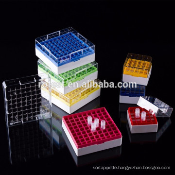 cryo box /rack for freezing tube/cryo tube