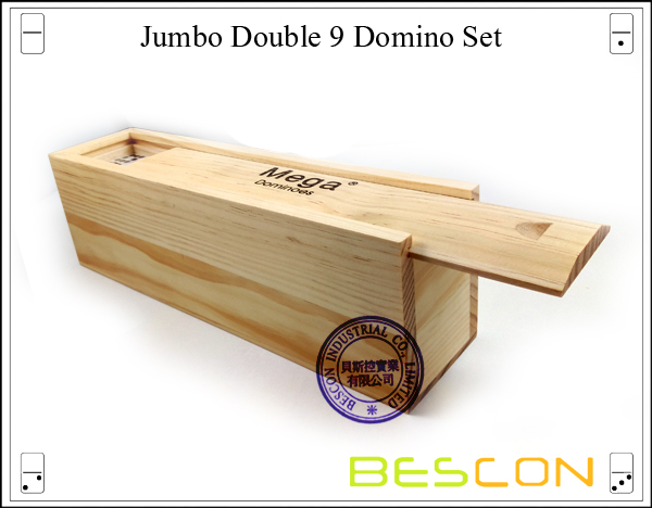 Jumbo Double 9 Domino Set-10
