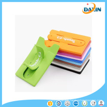 Cell Phone Card Holder One Touch U Silicone Phone Stand