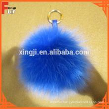 High Quality Stick up Fox Fur Pom Pom