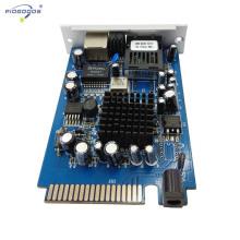 Type de carte Gigabit Gigabit Ethernet Board monomode 20-80km distance atteindre acheter directement à partir de la Chine usine