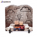 FREESUB Sublimation Rock Slate Photo