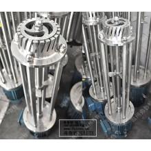 Emulsificadores homogêneos de alto cisalhamento misturador de lote vertical