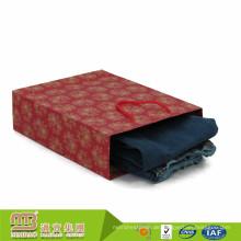 Goldener Lieferant Classic Style Custom Logo gedruckt Recycling-Kleidung Jeans Verpackung Papiertüte Handwerk für Erwachsene