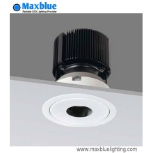 Embedded COB empotrable techo LED Downlight China fabricante