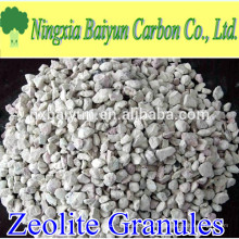 2-4mm aktivierte Zeolith Granulat Wasserfiltermedien